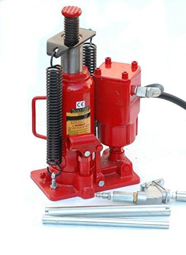 Pro-Lift-Montagetechnik 20t Stempelheber, pneumatisch + manuell, 00056