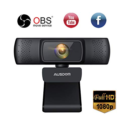 Our #7 Pick is the Ausdom 640 HD Webcam for Youtube