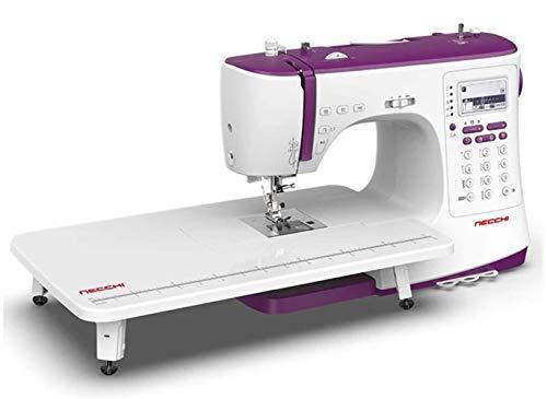 Necchi - Macchina da cucire computerizzata con tavolo esterno NC-204D