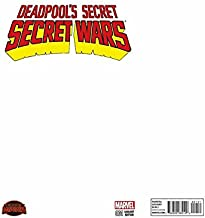Deadpool's Secret Secret Wars #1 Blank Variant