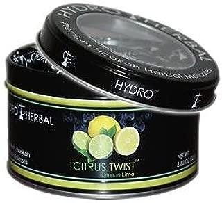 Hydro Herbal 250g Lemon Lime Hookah Shisha Tobacco Free Molasses
