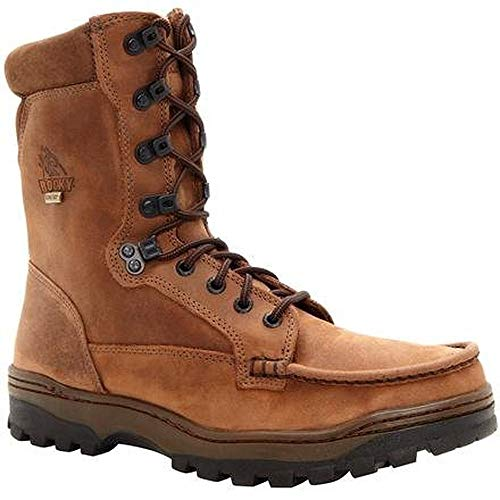 Rocky Men's FQ0008729 Hiking Boot, Light Brown, 9.5 ME