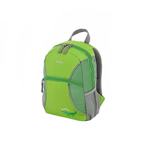 Rada Junior Kinder Rucksack mit Brustgurt für Jungen und Mädchen, Kita oder Kindergarten, wasserabweisend und robust