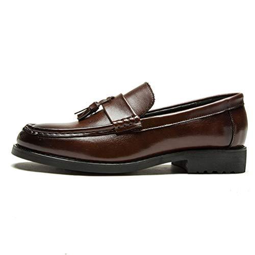 Qianliuk Tassel Schuhe Männer Dress Loafers italienische Hochzeitsschuhe