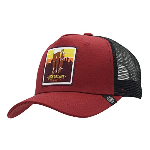 The Indian Face Born to Skate Cap Unisex volwassenen