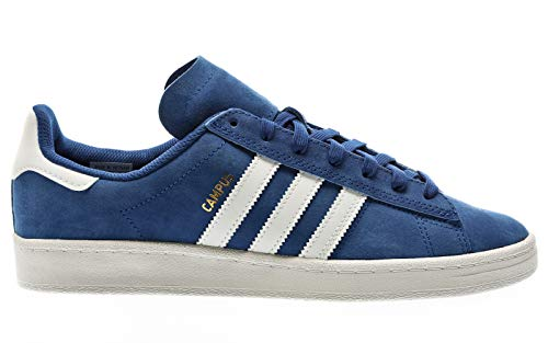 adidas Skateboarding Campus ADV, Collegiate Royal-Footwear White-Gold Metallic, 7,5