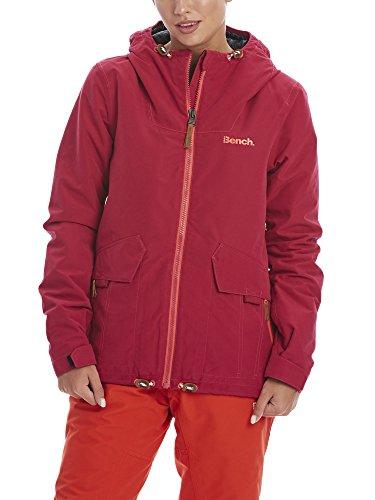 Bench Damen Bloomers Skijacke, Dark Pink, S