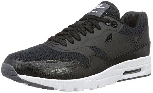 Nike Damen W Air Max 1 Ultra Essentials Turnschuhe, Schwarz / Schwarz-Weiß, 39 EU
