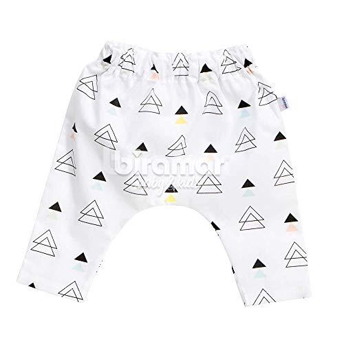 Calça Saruel para Bebê e Kids G - New York Triângulo Colorido, Biramar Baby, Colorido