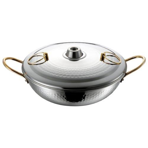 和平フレイズ卓上鍋鍋料理しゃぶしゃぶ鍋暖楽鍋26cmガス火専用ステンレスDR-4222
