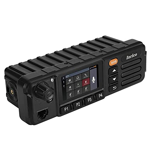 Mxzzand Comunicación por Radio de vehículo Estable Resistente al Desgaste portátil, para automóvil