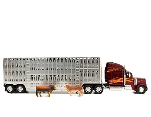 M&F Western 50622 Youth's Peterbuilt Bull Hauler Toys