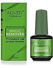Magic Nail Polish Remover, Professional verwijdert Soak-Off Nagellak in 3-5 minuten voor natuurlijke, gel-, acrylische, gebeeldhouwde nagels, snel en gemakkelijk, geen pijnlijke nagels