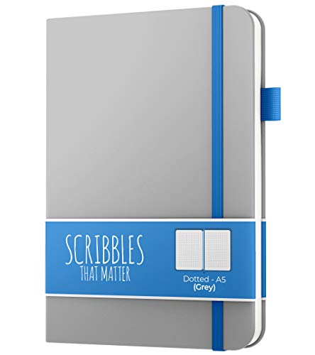 A5 Dotted Journal by Scribbles That Matter - Bullet Dot Grid Notebook...