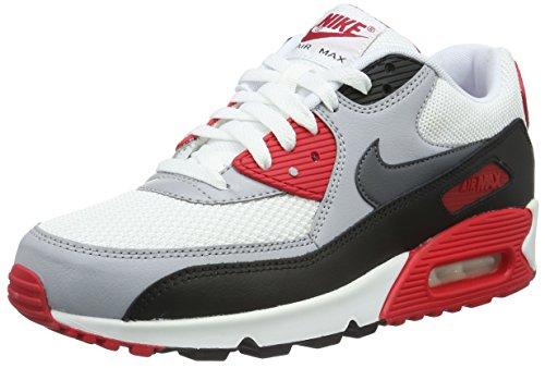 Nike Air Max 90 Essential, Herren Gymnastik, schwarz - Nero (Black/Black/Black) - Größe: 47