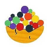 Bilanciamento in Legno Blocchi Giocattolo Toy Puzzle Block Building Gioco Educativo Accatastamento Giocattoli Cooperativa Capacità di Sviluppo Gioco Giocattoli Set Montessori Giocattoli per Bambini
