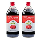 Tahiti Trader - Tart Cherry Organic Juice Concentrate 32 oz (2 Pack) - Juice Detox Drink - Juice Concentrate - Tart Cherry Organic Concentrate - Organic Tart Cherry Concentrate - Antioxidant Blend