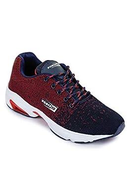 Liberty Force10 Men's Jme-17e Maroon Running Shoes