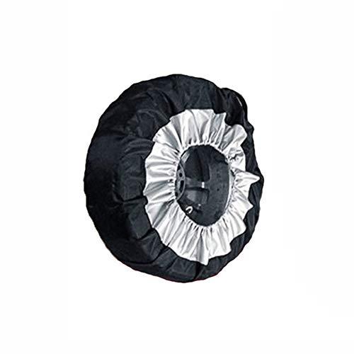 NSGJUYT Bolsa de Rueda de SUV de 1 Pieza Neumático de neumáticos Almacenamiento de Recambio Coche de neumáticos Bolsa Negra para un neumático de 13-19 Pulgadas de Coches