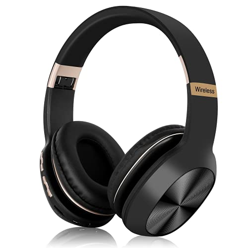 UrbanX Perfect Comfort 955 II Overhead Wireless Bluetooth Headphones for Vodafone Smart First 7 Noise-Cancelling, with – Black