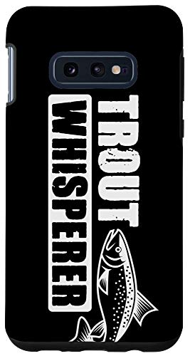 Galaxy S10e Fishing Gifts Phone Case Trout Whisperer Fisherman Boys Men Case
