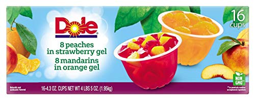 Product of Dole Fruit in Gel Cups Variety Pack 16 pk/43 oz Biz Discount