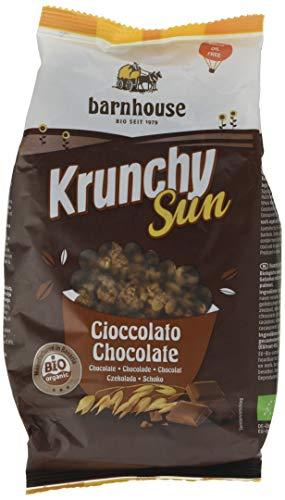 Barnhouse Krunchy Sun Muesli Cereales De Chocolate - Ecológico, Vegetariano - 375 G