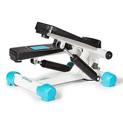 Máquina elíptica Cross Trainer Stepper Stepper Machine con cintas de entrenamiento Dispositivo de entrenamiento Stepper con MUTE HOME Principiantes y usuarios avanzados Pequeño y compacto Mini paso a