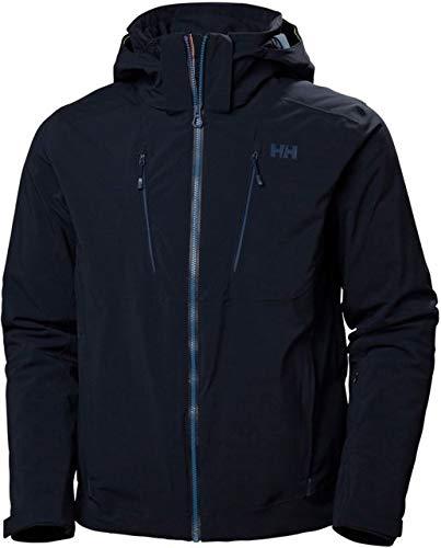 Helly-Hansen Men's Alpha 3.0 Waterproof Insulated Ski Jacket, 597 Navy, Medium