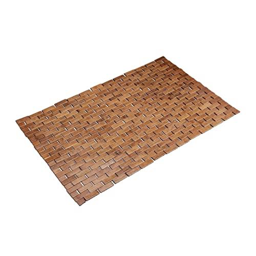 Relaxdays -  , braun Bambusmatte,