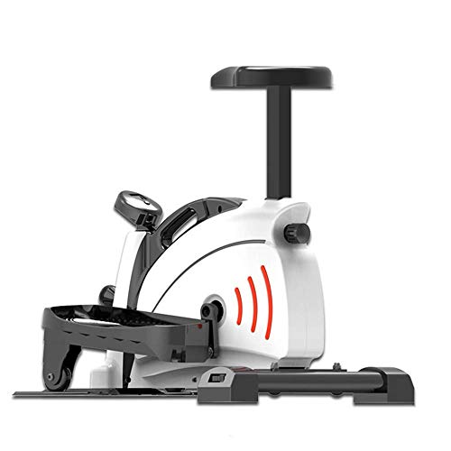 Elliptical Mute Stepper, Verstellbarer Stepper mit LCD-Display und Scrollrad, Leicht zu bewegen, Sitzpolster abnehmbar, Geeignet für Wohnzimmer, Büro