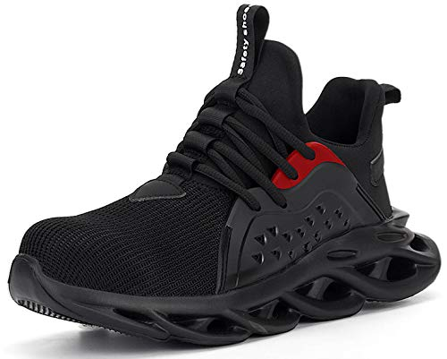 SUADEX 作業靴 安全 靴 作業 おしゃれ あんぜん靴 工事現場 靴 黒 スニ一カ一 軽量 通気性 鋼先芯 耐摩耗 防刺 耐滑ソール アウトドア スニーカー ワーク シューズ セーフティーシューズ