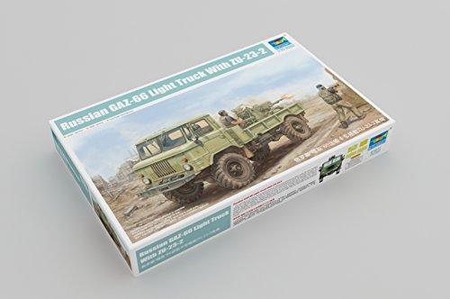 Trumpeter 01017 – Modélisme Jeu de Russian gaz 66 Light Truck II
