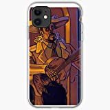 The Dead Skulls Dia Day Mariachi Muertos of De Los Reaper I Fsgwarrior | Unique Design Phone Case Cover for iPhone 12 & iPhone 11 and Many Else | TPU Shockproof Interior Protective