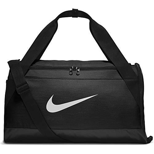 Nike Unisex Erwachsene Nk Brsla S Duff Sporttasche, schwarz (black/black/white), S