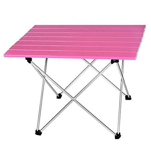 FDASIA Klapptisch tragbar klappbar Klapptisch Camping Wandern Schreibtisch Reise Outdoor Picknick New Blau Grau Pink Schwarz Allegierung...