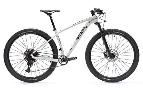 CLOOT Bicicleta Carbono 29 Evolution 9.1 Eagle 1X12 Boost, en SRAM EGALE 11-50, Horquilla Rockshox Judy, Frenos hidráulicos Shimano. MTB Carbono Hombre y Mujer (Talla M (163-178))