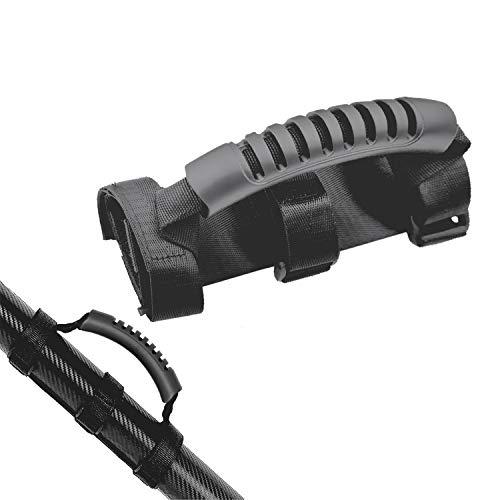 JEEZAO E-Scooter Skateboard Handschlaufe, Elektrorollergurt, Arbeitssparend Tragegriff Bandage für Roller Xiaomi Mijia M365 Tragegurtstreifen Ninebot Segway ES1 ES2 ES3 ES4 (Schwarz)