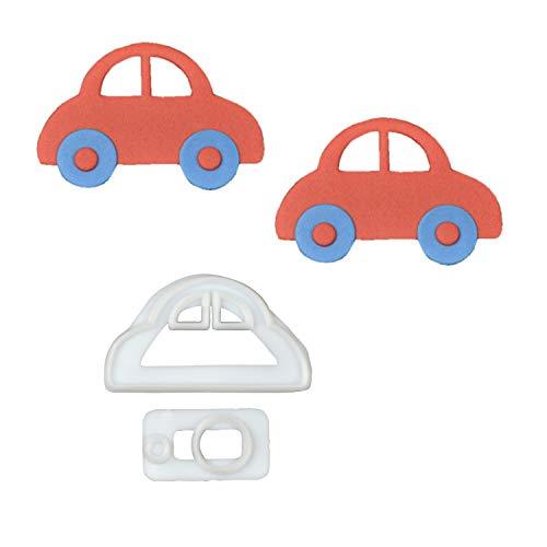 1 FMM Auto Ausstecher-Set aus Kunststoff | Car | Autotorte | Tortendeko | für Fondant und Blütenpaste