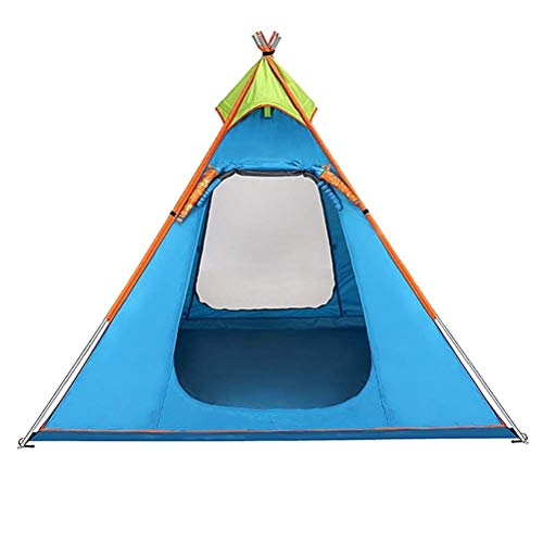 Taoke Outdoor-Zelte 3-4 Personen Camping einlagige Vier Jahreszeiten berücksichtigen Regen sichere Pyramide Zelte atmungsaktiv Gute wasserdichte Leistung 8bayfa