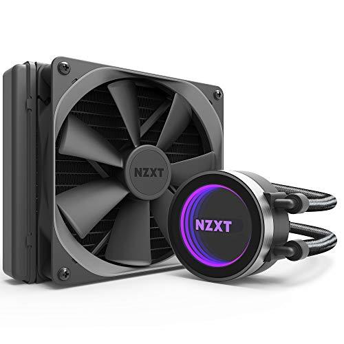 NZXT Kraken X42 140mm - RL-KRX42-02 - AIO RGB CPU Liquid Cooler - CAM-Powered - Infinity Mirror Design - Performance Engineered Pump - Reinforced Extended Tubing - Aer P140mm Radiator Fan (Included)