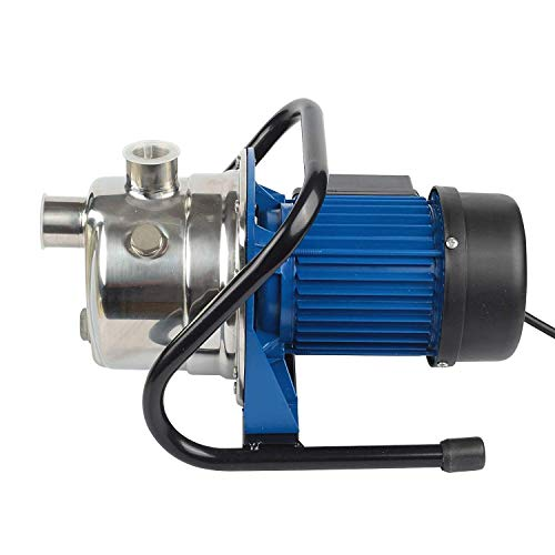 1.6 HP Portable Stainless Steel Watering Pump   Well Booster with Pump 1' Female Thread