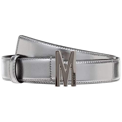 Moschino damen Gürtel argento 42 EU