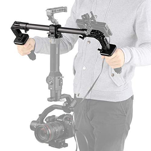 SMALLRIG Dual Poignée pour DJI Ronin S, Zhiyun Crane V2 Crane Plus Crane 2, Feiyu Tech AK2000 AK4000-2210
