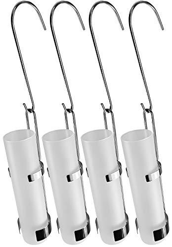 4-teiliges Set Luftbefeuchter aus Edelstahl - Glasbehälter -moderne Luftbefeuchter für die Heizung - Luftreiniger Wasserverdunster Verdamper verdunster - Wiederherstellung des Raumklimas