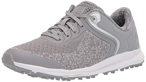 Callaway Women's Malibu Golf Shoe, Grey, 7.5