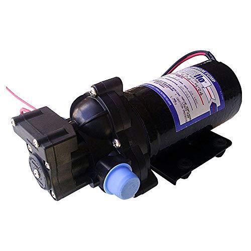 Shurflo Bomba de Presión de Agua 24V 13 litros/min 2088-573-534 | Bombeo Constante Durante Varias Horas o Durante Todo el Dí