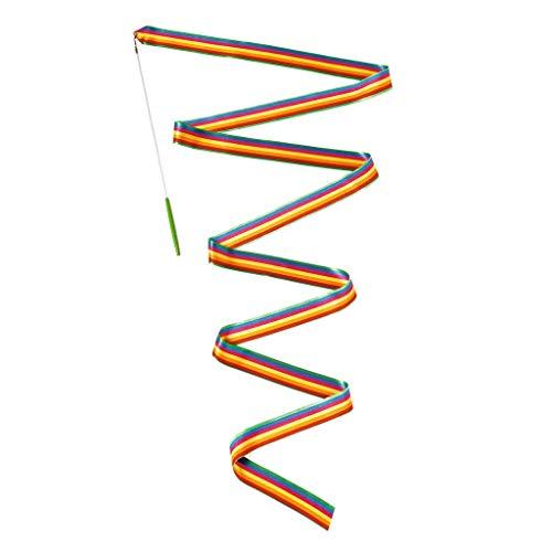 DJECO - Giochi di azione e riflessi Giochi di abilità Jolyruban - Nastro da ginnastica, multicolore (15)
