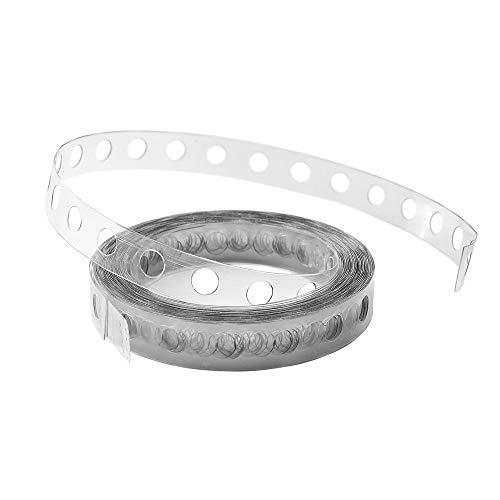 1 Stück 'Ballongirlanden - Lochband', Kunststoff, transparent, ca. 5 lfm.