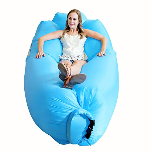 AlphaBeing Inflatable Lounger - Best Air Lounger for Travelling,...